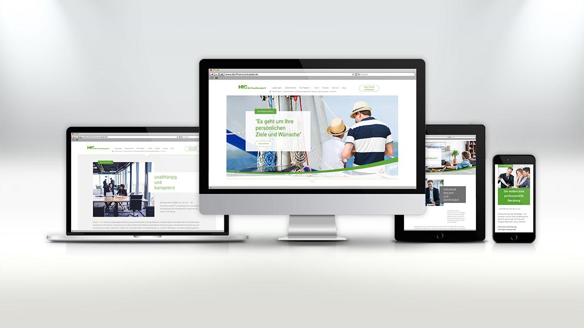 Monitore mit HIC Website